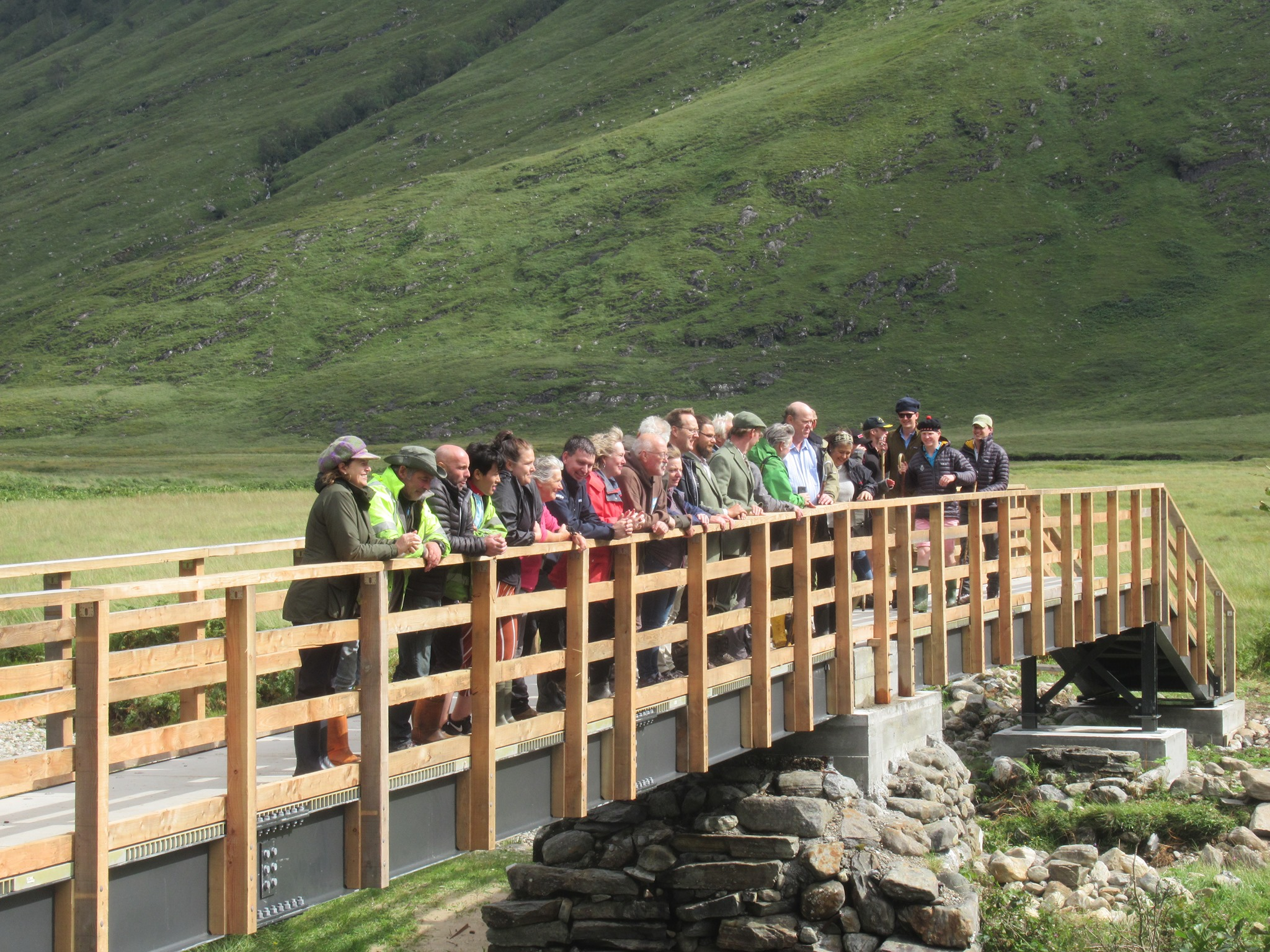 Carnach Bridge now open