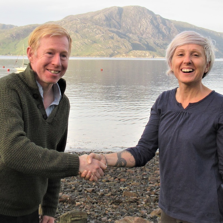 Some of the Knoydart Foundation Team
