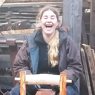 Amie the Knoydart Foundation Ranger